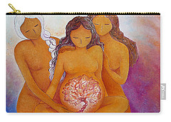 Goddesses In Birth  Carry-all Pouch
