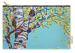 Godlen Days  Carry-all Pouch by Erika Pochybova