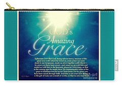 God's Amazing Gift Of Grace Carry-all Pouch