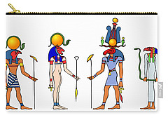 Gods And Goddess Of Ancient Egypt Carry-all Pouch