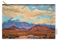 God's Creation Mt. San Gorgonio  Carry-all Pouch by Diane McClary