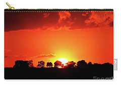 God's Gracful Sunset Carry-all Pouch