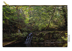 Carry-all Pouch featuring the photograph God's Handwriting - Landscape Art by Jordan Blackstone