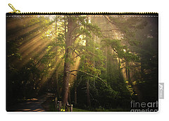 God's Light 2 Carry-all Pouch by Geraldine DeBoer