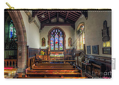 Carry-all Pouch featuring the photograph Gods Light by Ian Mitchell