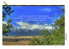 God's Majestic Creation Carry-all Pouch