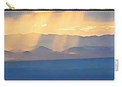 God's Rays Over The Great Basin  Carry-all Pouch