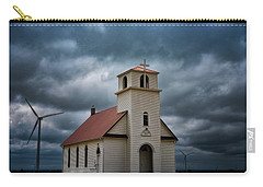 Carry-all Pouch featuring the photograph God's Storm by Darren White