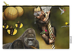 Going Bananas Carry-all Pouch by Marvin Blaine