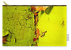 Carry-all Pouch featuring the photograph Going Green by Skip Hunt