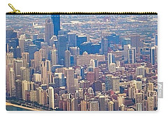 Going In For A Landing At #chicago Carry-all Pouch