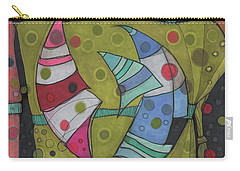 Going In Circles Carry-all Pouch by Sandra Church