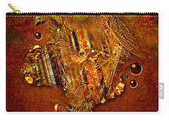 Gold Angel Carry-all Pouch