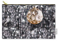 Carry-all Pouch featuring the photograph Gold Christmas by Ulrich Schade