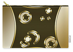 Gold Coffee 3 - Chuck Staley Carry-all Pouch by Chuck Staley