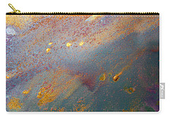 Gold Dust Abstract Painting Carry-all Pouch