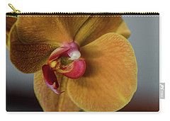 Gold Flower Blossom Carry-all Pouch