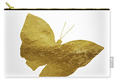 Gold Glam Butterfly Carry-all Pouch