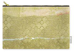 Gold Glam Pretty Abstract Carry-all Pouch