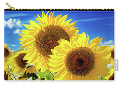 Carry-all Pouch featuring the photograph Gold by Greg Fortier