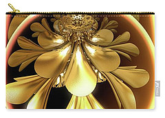 Gold Lacquer Carry-all Pouch by Ron Bissett