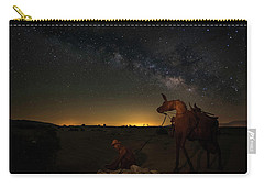 Gold Miner Milky Way 2  Carry-all Pouch by Scott Cunningham