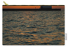 Gold On The Water Carry-all Pouch by Bill Pevlor