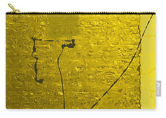 Gold Parchment Carry-all Pouch