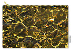 Carry-all Pouch featuring the photograph Liquid Gold  by Janice Westerberg