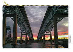 Gold Star Bridge Sunset 2016 Carry-all Pouch