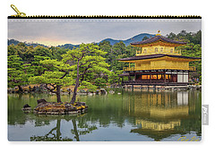 Carry-all Pouch featuring the photograph Gold Temple,  by Rikk Flohr