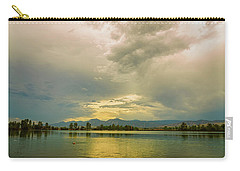 Carry-all Pouch featuring the photograph Golden Afternoon by James BO Insogna