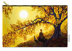 Golden Afternoon Meditation Carry-all Pouch by Laura Iverson