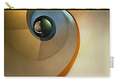 Golden And Brown Spiral Staircase Carry-all Pouch
