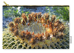 Golden Barrel Cactus Carry-all Pouch by Glenn McCarthy Art and Photography
