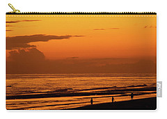 Golden Beach Sunset Carry-all Pouch