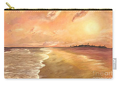 Golden Beach Carry-all Pouch by Vanessa Palomino