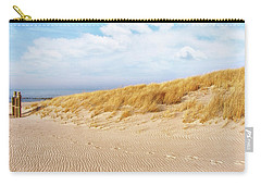 Golden Beach Walk Carry-all Pouch