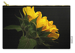 Carry-all Pouch featuring the photograph Golden Beauty by Judy Vincent