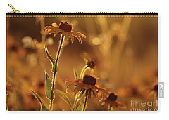Golden Black Eyed Susan Carry-all Pouch