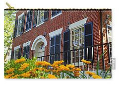 Golden Blooms At The Dahlonega Gold Museum Carry-all Pouch