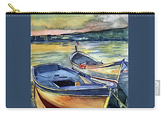 Golden Boats Carry-all Pouch