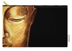 Golden Buddah Carry-all Pouch