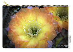 Golden Cactus Bloom Carry-all Pouch