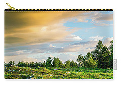 Golden Clouds Carry-all Pouch