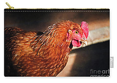 Carry-all Pouch featuring the photograph Golden Comet by Mary Machare