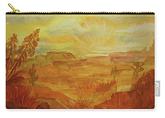 Golden Dawn Carry-all Pouch