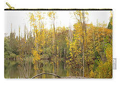 Carry-all Pouch featuring the photograph Golden Days by I'ina Van Lawick
