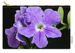 Carry-all Pouch featuring the photograph Golden Dewdrop II by Richard Rizzo