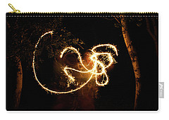 Golden Dragon Carry-all Pouch by Ellery Russell